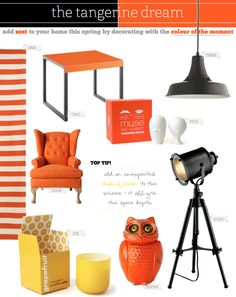 because who doesn't like orange. and owls? crazies, that's who...