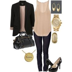 You always want to glam a pretty as well as casual look for work? You are lucky to find the post. Today, we are going to tell you some useful ideas to create work outfits. It's not easy for women to get an appropriate and casual look for their work looks. You need to know[Read the Rest]