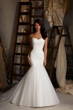 Mori Lee Gillian Wedding Dress Blu Collection - Beautiful
