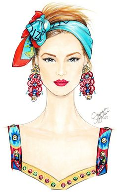 New fashion illustration sketches face portraits Ideas Arte Fashion, Fashion Face, Fashion Illustration Face, Illustration Art, Fashion Illustrations, Fashion Design Drawings, Fashion Sketches, Frida Art, Sketch Poses
