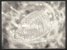 Nacelle, April 1996. lithography by June Wayne. If interested in exhibiting or purchasing, please contact the June Wayne Collection to check for availability. #junewayne #feministartist #womeninart #tamarindinstitute