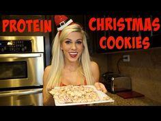 Soft PROTEIN Sugar Cookies (1 gram of sugar) | Vlogmas Day 6
