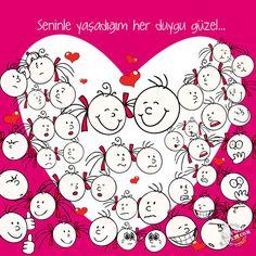 """""""Ben seninle mutsuzluğa da varım"""" diyebilmektir #aşk Aşkının Kitabını Yaz! #romantik #hediye #sürpriz #erkeğe #sevgiliye Say Love You, Album, Love Heart, The Book, Decoupage, Couple Goals, Snoopy, Sayings, Cute"""