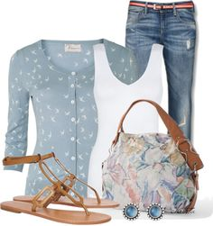 """Spring Style"" by christa72 ❤ liked on Polyvore"