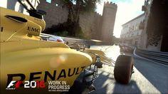 F1 2016 game screenshot at Baku