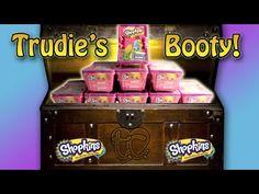 9 Shopkins Season 2 Blind Baskets! Trudie's Booty! - YouTube