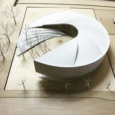 #nextarch by @yazdanistudio #next_top_architects Armenian American Museum. Glendale, CA. 1st place competition entry.…