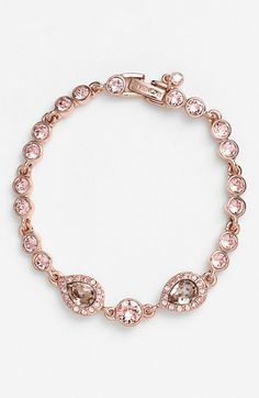 Givenchy Crystal Line Bracelet available at #Nordstrom
