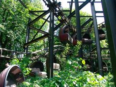 The abandoned Spreepark PlanterWald amusement park of Germany is located right in the heart of Berlin with practically no security barriers to keep out the public.