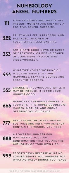 The Meaning of Angel Numbers & 111 222 333 444 555 666 777 888 999 & What Is Numerology? & Babe Magic & Beauty Wellness Magic Source by The post Numerology Angel Numbers appeared first on Cherise on Attraction. Numerology Numbers, Numerology Chart, Numerology Calculation, Astrology Numerology, 555 Meaning, Number 333, Life Challenge, Reiki, Astrology