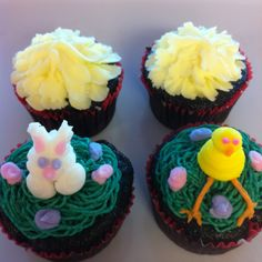 Bunnies and chicks