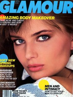 Paulina Porizkova - Glamour April 1984