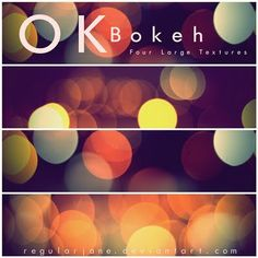 Download Free Bokeh Textures