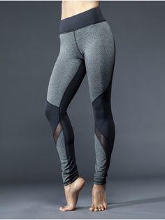 Trendy Gym Wear For Women : Michi Rifical Legging mesh wrapping and panel fabric mixing Mesh Yoga Leggings, Crop Top And Leggings, Sports Leggings, Printed Leggings, Workout Leggings, Leggings Sale, Cheap Leggings, Sport Fashion, Fitness Fashion