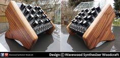 Doepfer Dark Energy panels in Mahogany Dark Energy, Wood Design, Knife Block, Wood Paneling, Wood Crafts, Home, Wooden Panelling, Woodwork, Ad Home
