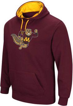 san francisco 308b1 5dc46 Men s Campus Heritage Minnesota Golden Gophers Logo Hoodie