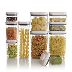 OXO ® 10-Piece Pop Container Set in Food Storage   Crate and Barrel