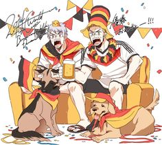 [UNIFIED GERMAN SCREAMING] this is exactly what they looked like in the FIFA 2014 final