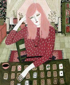 """Solitaire"" por Yelena Bryksenkova"