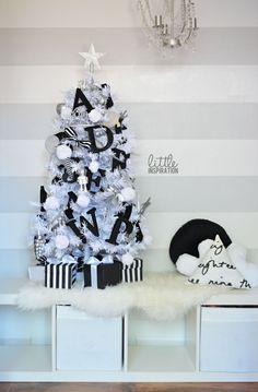An Alphabet Christmas Tree Theme
