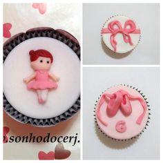 Cupcakes Bailarina! curta nossa página no Facebook: www.facebook.com/sonhodocerj
