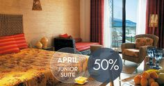 April offer Enjoy Luxury - Enjoy more: April -50% on Junior Suits. Enjoy the Aegean Sea, the sun, the Greek hospitality in Thassos Island. Enjoy Summer! Enjoy Iliomare Hotel and Resorts! BOOK NOW
