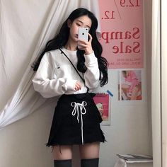 Korean Fashion Trends you can Steal – Designer Fashion Tips Korean Girl Fashion, Korean Fashion Trends, Korean Street Fashion, Ulzzang Fashion, Harajuku Fashion, Ulzzang Girl, Japanese Fashion, Asian Fashion, Fashion Outfits