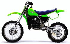 1987 Kawasaki Big Wheel with optional top end kit and weighted flywheel Motocross Bikes, Vintage Motocross, Kawasaki Dirt Bikes, Dirt Biking, Big Wheel, Dirtbikes, Trail Riding, Classic Bikes, Vintage Bikes