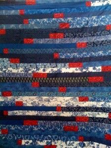 Jelly roll race (jelly roll 1600) quilt in rainbow colors with a ... : jelly roll 1600 quilt patterns - Adamdwight.com