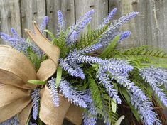 Spring Wreath Lavender Fields Wreath for Spring and Summer