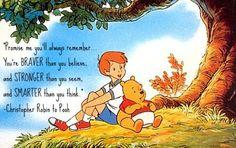 I will always love my pooh bear.