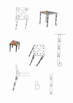 102 - Skizze - Tisch
