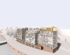 Gallery - GRAFT + Kleihues+Kleihues Design Work/Live Housing in Berlin - 4