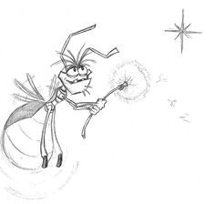 scene with lightning bugs from princess and the frog - Google Search