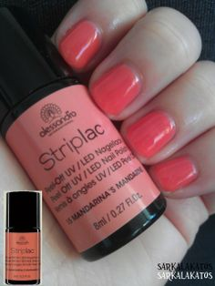 15 - Mandarina's Mandarine; two coats; it's more warm than cold, more orange than pink :) Original picture is more true :)