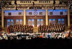 The Boston Pops orchestra performs with the University Chorale