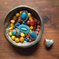 Photo by apartmentf15, turquoise rings