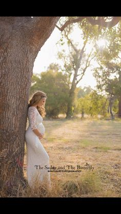Maternity photo shoot / that dress