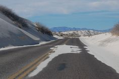 Driving Through the White Sands of New Mexico