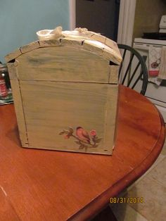 wedding box side