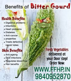 Health Benefits of Bitter Gourd!