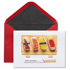 Papyrus Sushi Birthday Card,
