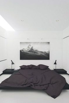 Awesome Black and White Modern Bedroom Decor Ideashttps://carrebianhome.com/awesome-black-white-modern-bedroom-decor-ideas/