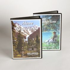 Best Made Company — Alone in the Wilderness (DVD)... this man made a documentary about himself alone in Alaska. Intensely good.
