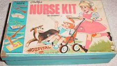 HASBRO: 1950s Dolly's Nurse Kit