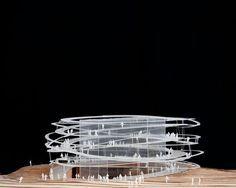 a f a s i a: Sou Fujimoto . Architecture Design, Concept Architecture, Facade Design, Architecture Models, Organic Architecture, Fujimoto Sou, Sketchup Model, Archi Design, Arch Model