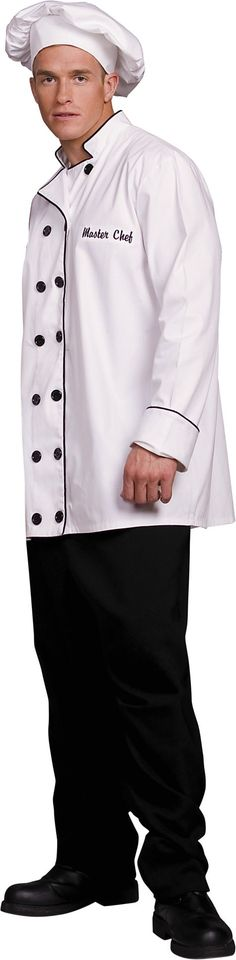 Adult Master Chef Costume - Career Costumes - Mens Costumes - Halloween Costumes - Categories - Party City