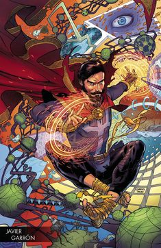 Doctor Strange Damnation #1 Cover G Incentive Javier Garron Young Guns Variant Cover