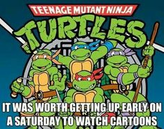 I miss the classic Turtles <3