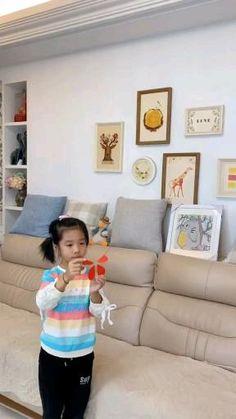 Cute Kids Crafts, Paper Crafts Origami, Diy Crafts For Gifts, Paper Crafts For Kids, Diy Home Crafts, Diy For Kids, Creative Crafts, Diy Paper, Paper Toys